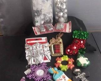 Christmas Ornaments And Hooks