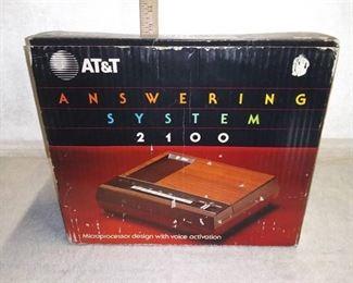 Vintage AT&T Answering System NIB