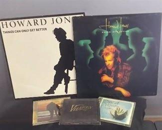 Howard Jones Vinyl Albums, Misc. CDs