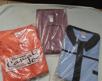 3 New Mens Shirts Size 3X Haband Casual Joe in Unopened Bags