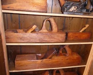 Great Antique Wood Plane Collection