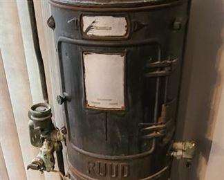 Antique Ruud Water Heater