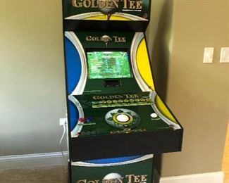Available for Presale! Golden Tee arcade game - great working condition - contact for pricing