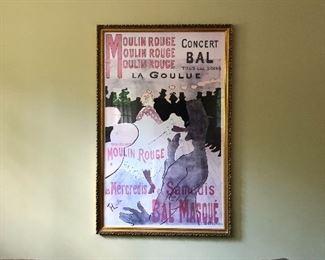 vintage poster print