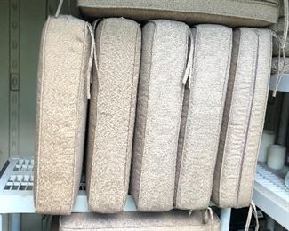 cushions for patio side chairs, ottomans, loveseat & sofa