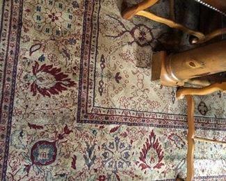 """8'2""""x11'9"""" Wool Belgian carpet"""