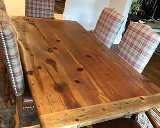 """Polo Ralph Lauren for Henredon wood dining table 84""""L x 44""""W"""