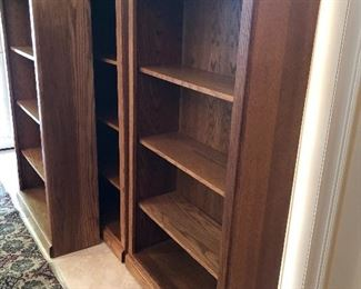 set of 4 book shelves for office or library