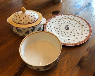 Villeroy & Boch Safran & Sahib pattern dishes