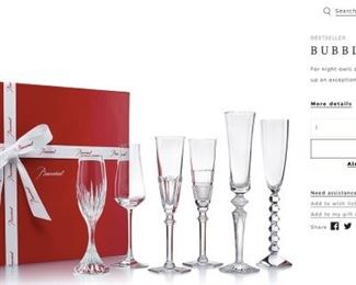 Baccarat still available new at $990