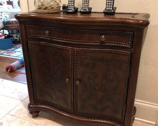 Narrow Entry or Hallway console cabinet