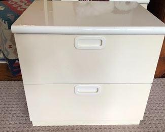 contemporary laminate nightstands (2)