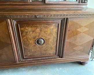 Beautiful wood details