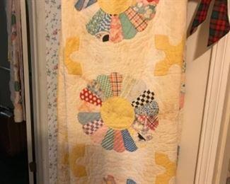 Quilts left