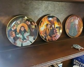 Gone with the Wind plates