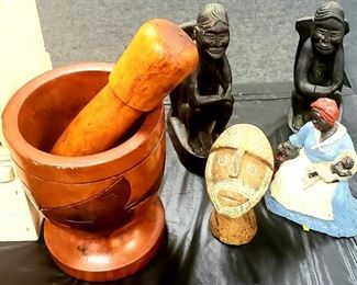 African American, Caribbean Items