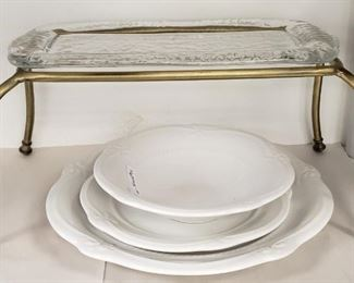 Goldtone Appetizer Platter SM