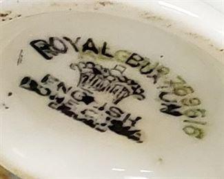 Royal Burton Cuo and Saucer
