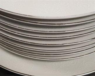Towne House 17 Dinner Plate and 1 Serving Plate FIne China