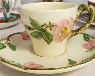 Vintage Floral Cup
