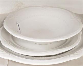 Vintage Three Bowl Dish Set