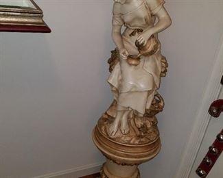 2 piece statue