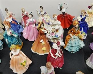 large collection of Royal Doulton, Lenox & more figurines