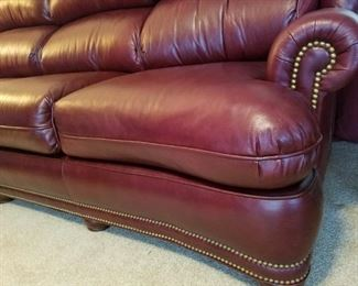 Hancock & Moore real leather sofa, perfect condition