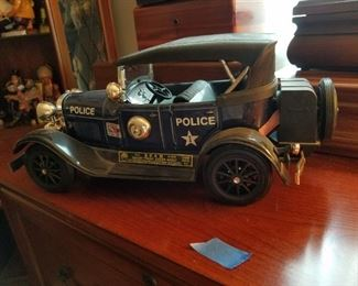 Jim Bean police car decanter