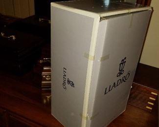 "Lladro 05960, ""Policia Americano On Patrol"", new, still original sealed in box"