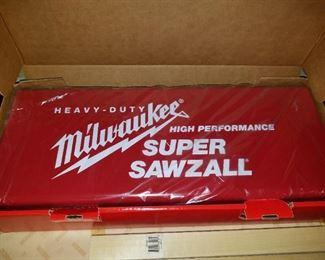 Milwaukee Sawzall, never used