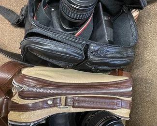 Many camera items