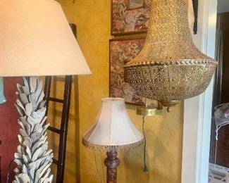 Lamps and lighting from rustic to Boho