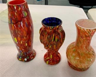 Dave Fetty vases ( two on the left)