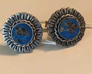 Sterling signed cuff links