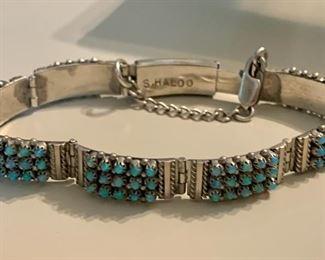 S. Haloo Snake Eyes opal bracelet