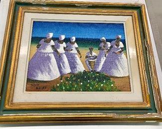 D Pires Brazil 20th century oil on canvas