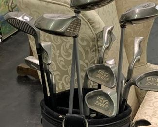Ping left handed golf clubs ( sold individually)