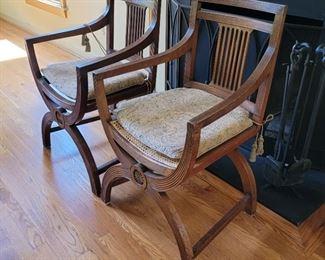 chairs: 36 x 23 x 20