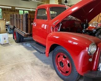 1950 GMC to be offered as part of the ON-LINE Auction. The ON-LINE AUCTION will  happen AFTER THE ESTATE SALE HAS COMPLETED.