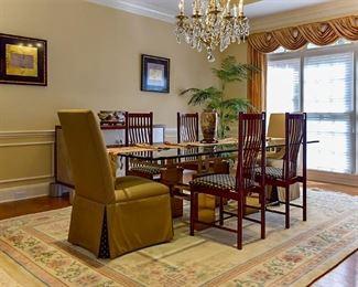 Stunning dining room set