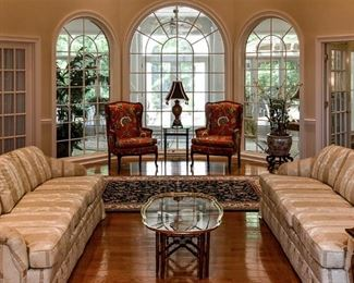 Gorgeous home with beautiful furniture, art, accessories.