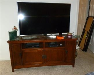 Large TV & stand