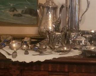 Fancy Silver plate