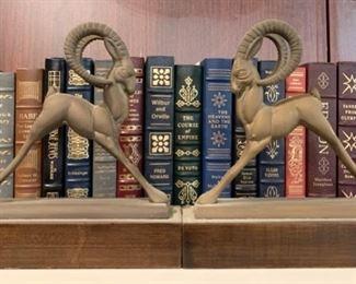 Art Deco Bookends