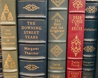 Signed Easton Press Books Priced Individually
