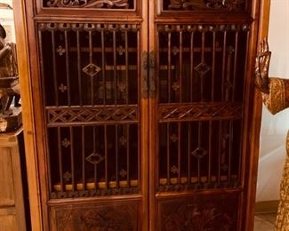 Chinese Cabinet with Fitted Interior