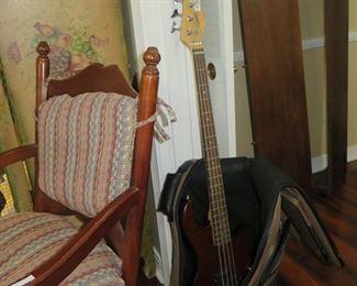 freeway godin guitar & case