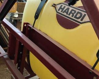Hardi Sprayer, previously used with a Kubota