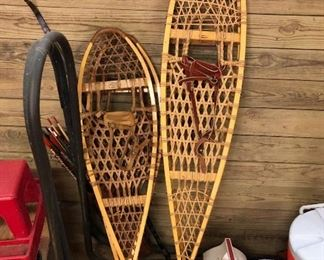 SNOW SHOES, VINTAGE AND CURRENT